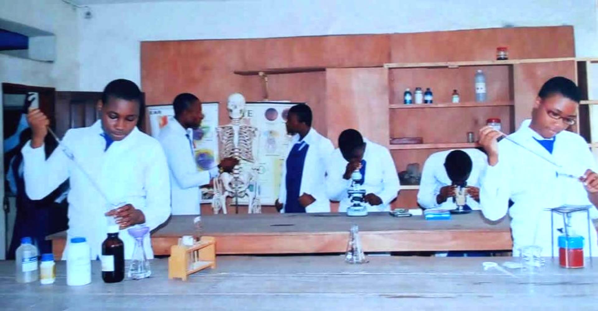 Standard laboratory facilities